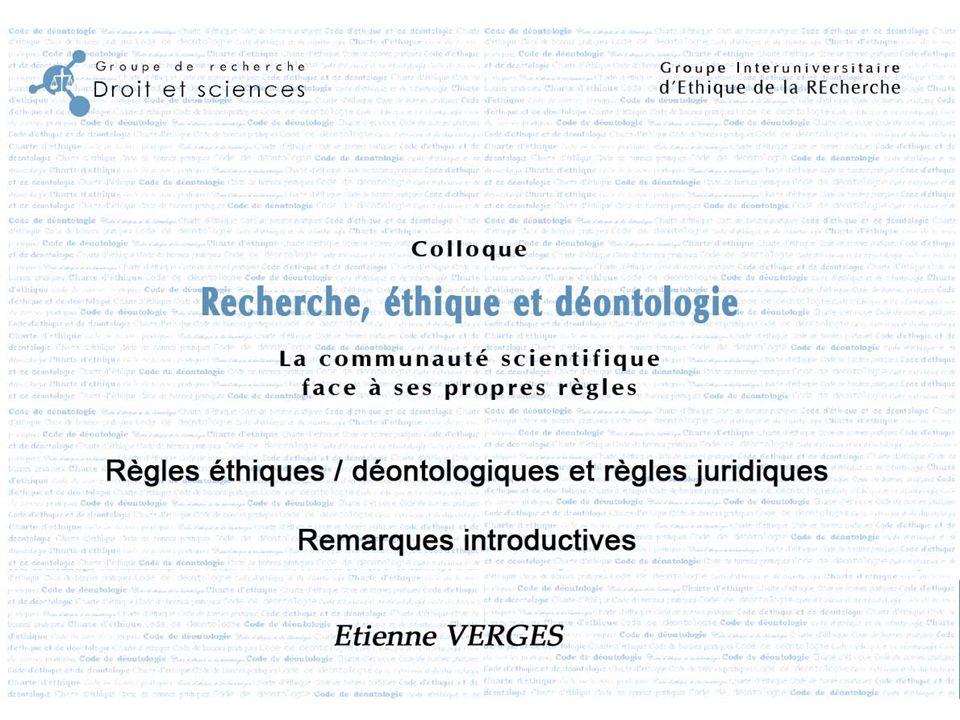 Grilles d'analyses des chartes, codes et guides Elaboration des règles éthiques et déontologiques Contexte : D'où vient le besoin de créer la charte ou le Code .