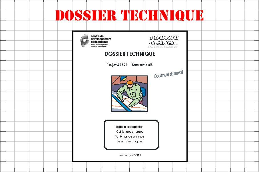 Dossier technique
