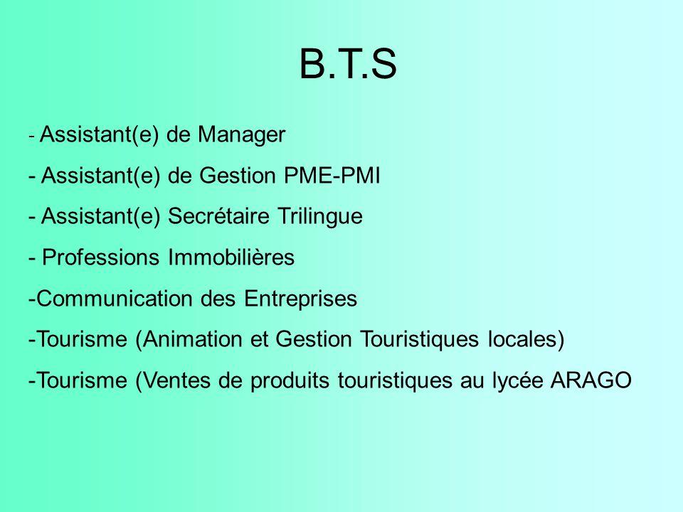 - Assistant(e) de Manager - Assistant(e) de Gestion PME-PMI - Assistant(e) Secrétaire Trilingue - Professions Immobilières -Communication des Entrepri