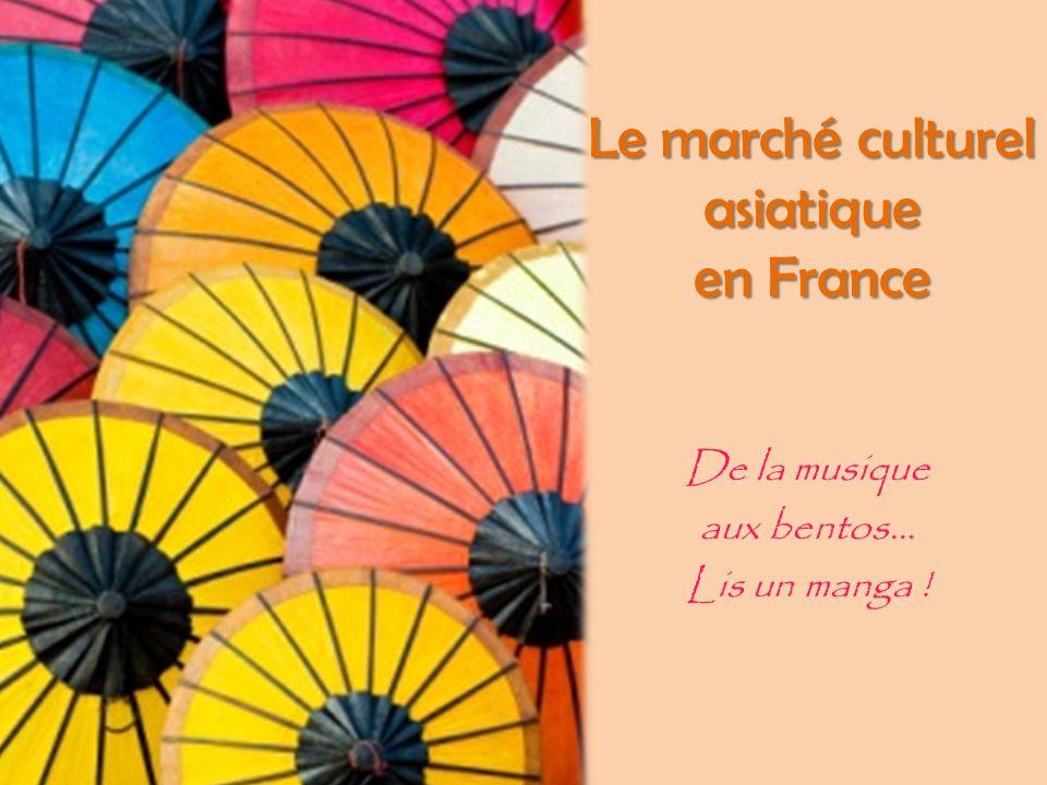 Le marché culturel asiatique en France De la musique aux bentos… Lis un manga !