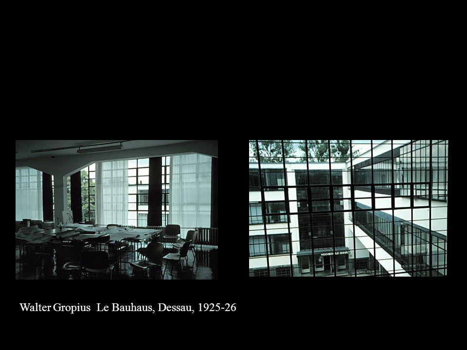 Walter Gropius Le Bauhaus, Dessau, 1925-26