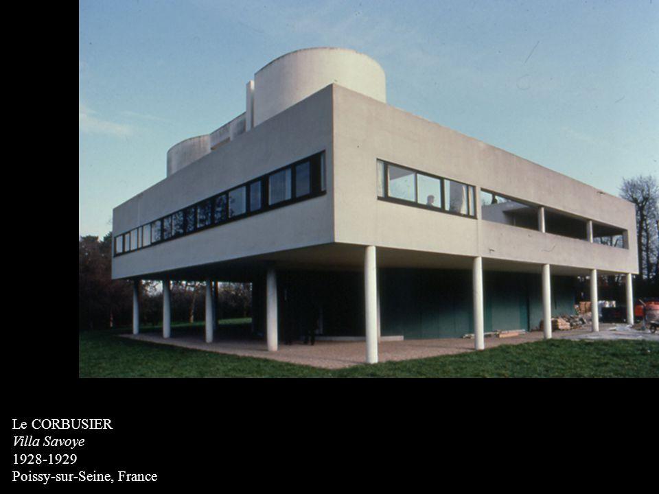 Le CORBUSIER Villa Savoye 1928-1929 Poissy-sur-Seine, France