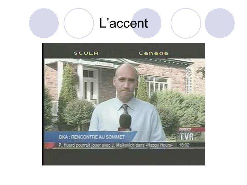 L'accent
