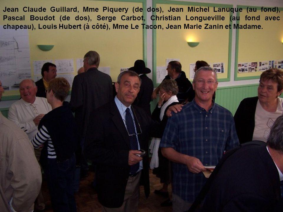 Jean Claude Guillard, Mme Piquery (de dos), Jean Michel Lanuque (au fond), Pascal Boudot (de dos), Serge Carbot, Christian Longueville (au fond avec c
