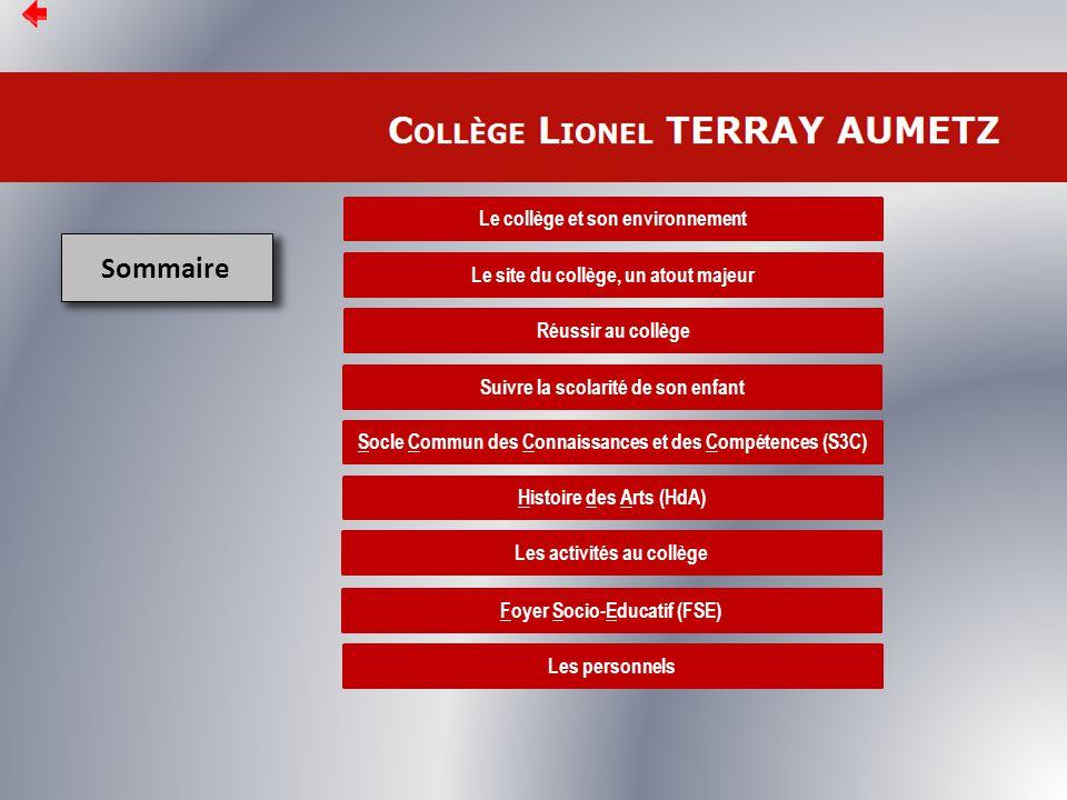 Le site du collège, un atout majeur La page d'accueil Mois en cours + Calendrier http://www4.ac-nancy-metz.fr/clg-terray-aumetz/ Mesures disciplinaires Les matières L'orientation Accès Pronote