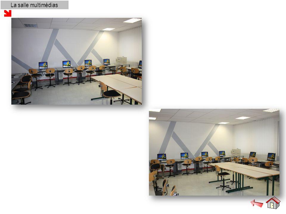 La salle audiovisuelle et la salle de réunion