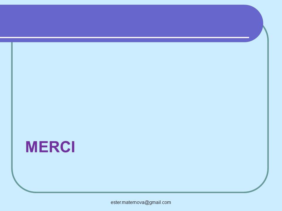 MERCI ester.maternova@gmail.com