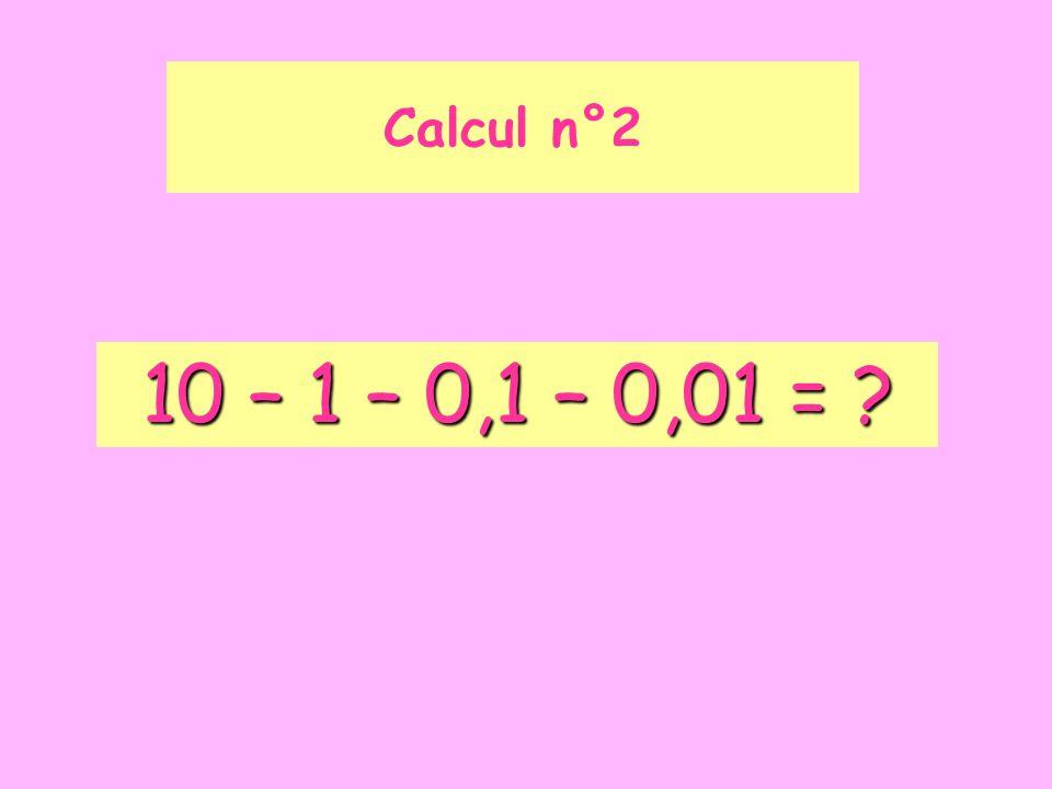 Simplifier au maximum la fraction Calcul n°3