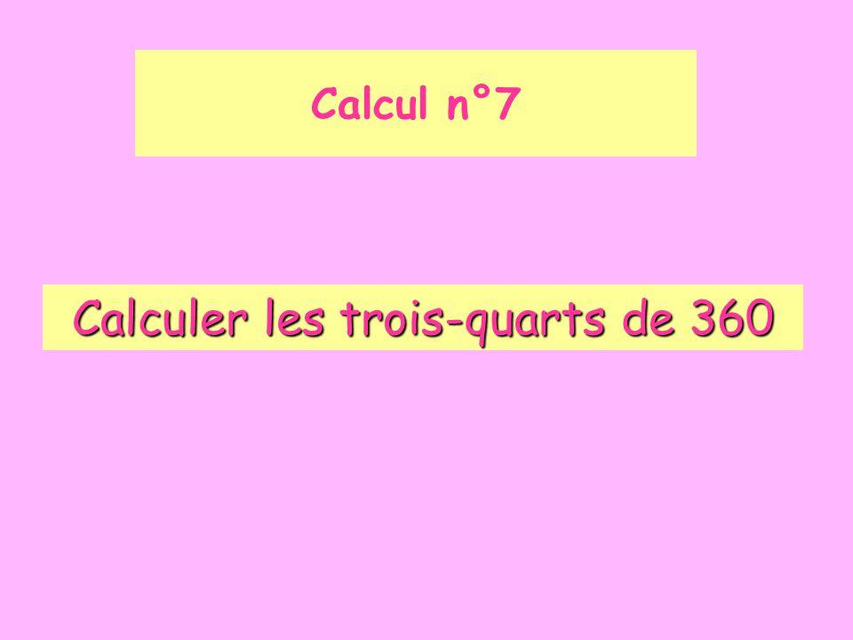Calcul n°8 Quel est l'écriture décimale du nombre: 4 x 0,1 + 6 + 5 x 0,01 .