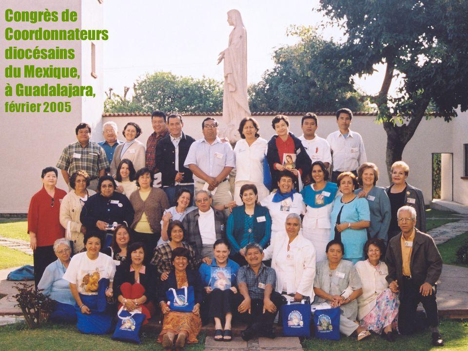 12 Congrès de Coordonnateurs diocésains du Mexique, à Guadalajara, février 2005