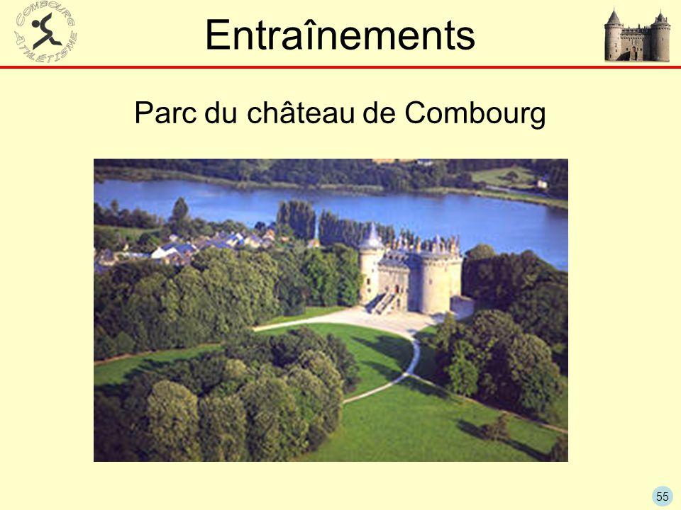 55 Entraînements Parc du château de Combourg