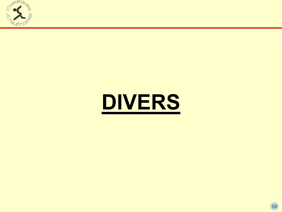 59 DIVERS