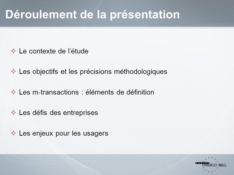 1.Contexte et objectifs Contexte « Transactions mobiles : un futur trésor pour les opérateurs .