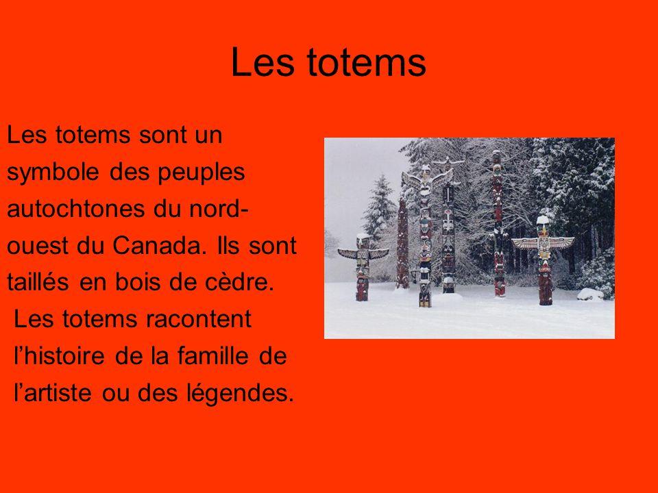 Le castor Le castor est l'animal national du Canada.