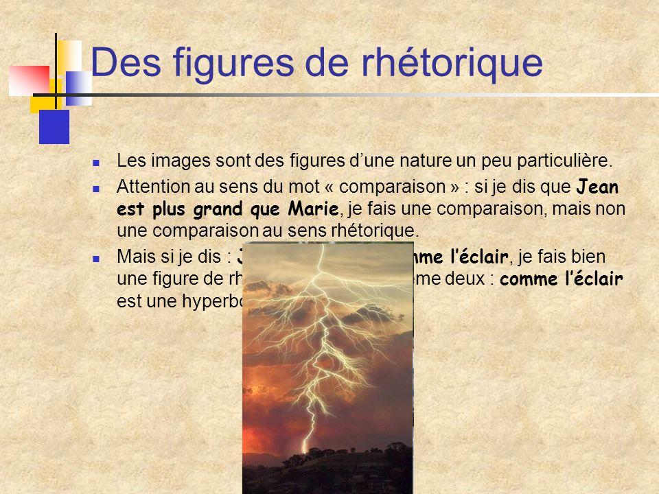 L'effet produit (Une image, à quoi ça sert ?) Il ne suffit pas de savoir reconnaître une image, ni de savoir la décomposer (comparé, comparant, etc.).