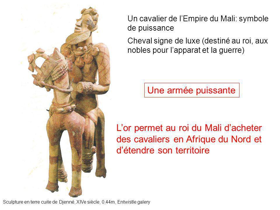 Un cavalier de l'Empire du Mali: symbole de puissance Sculpture en terre cuite de Djenné, XIVe siècle, 0,44m, Entwistle galery Cheval signe de luxe (d