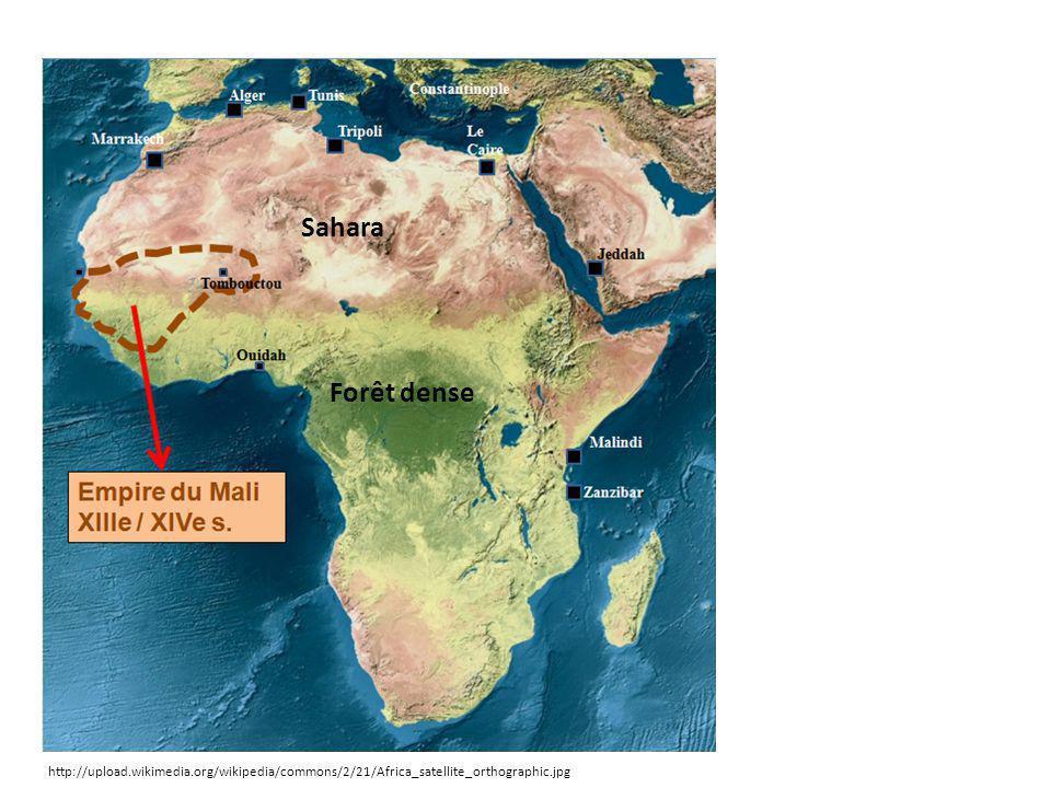 B) Un Empire au cœur du commerce transsaharien.