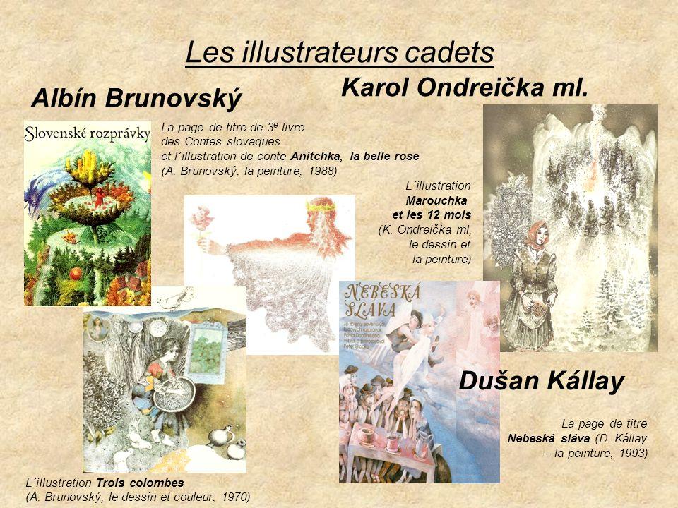 Les illustrations des contes Marouchka et les 12 mois et Le Sel est plus précieux que l´or (I.