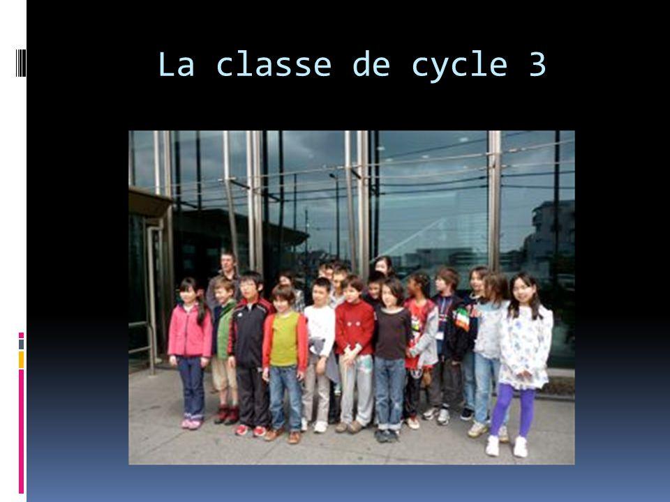 La classe de cycle 3