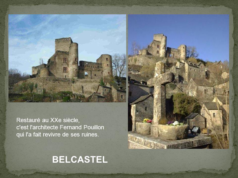 BELCASTEL « Plus beau village de France »