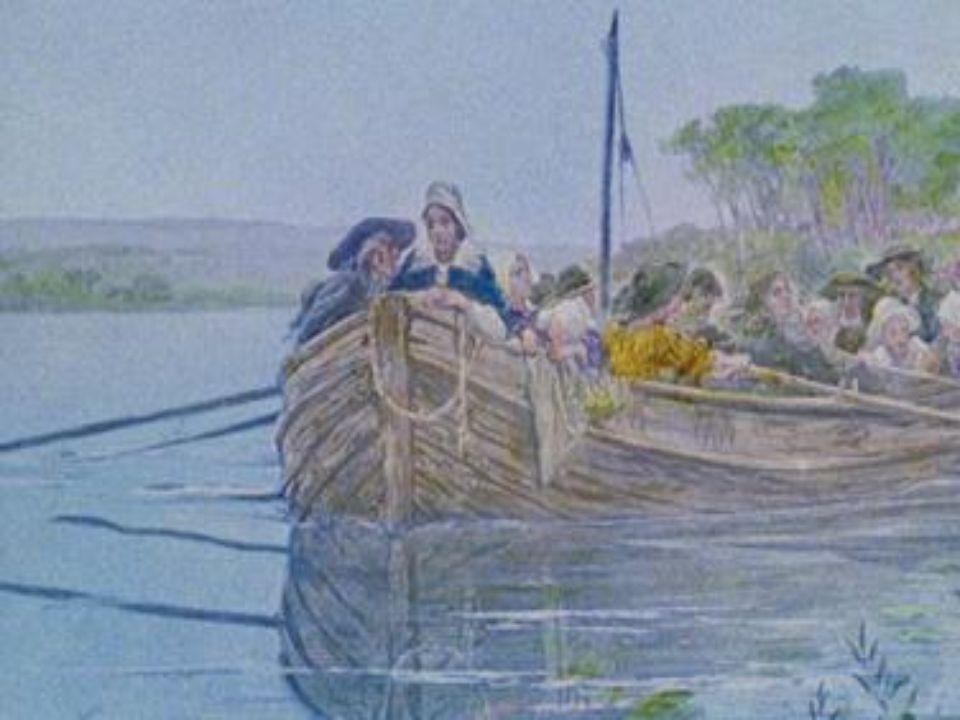 Évangéline erra d un endroit à l autre, cherchant à obtenir des nouvelles de son fiancé.