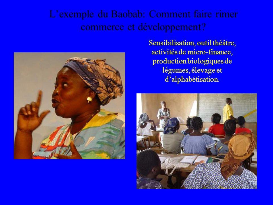 L'exemple du Baobab: Comment faire rimer commerce et développement.