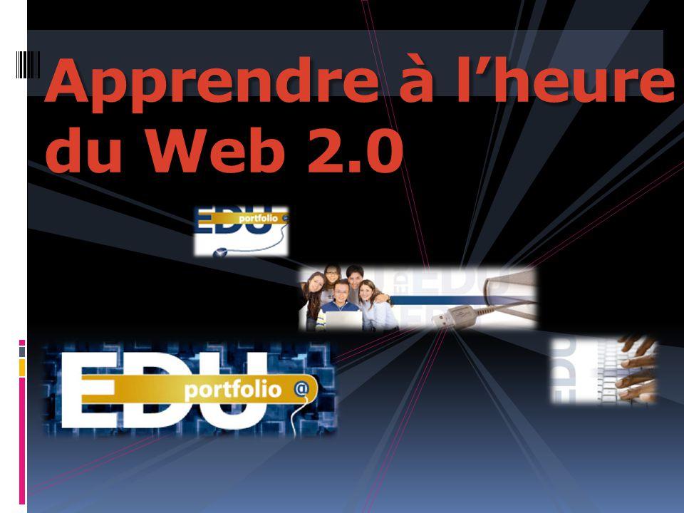 Apprendre à l'heure du Web 2.0