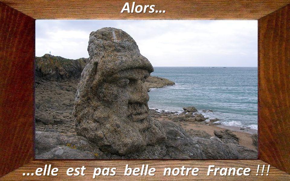 Un air d'Ile de Pâques…...à Saint Malo (Ille-et-Vilaine).