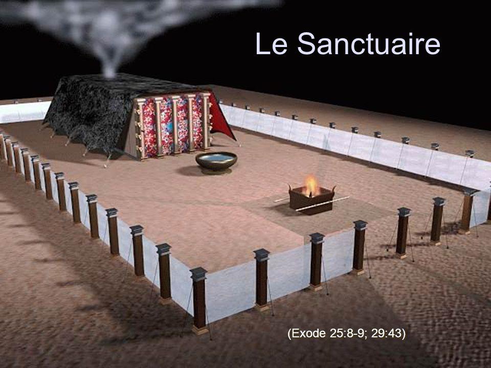 Le Sanctuaire (Exode 25:8-9; 29:43)