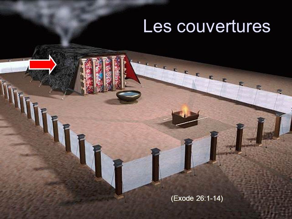 Les couvertures (Exode 26:1-14)
