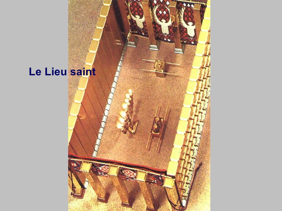 10 coudées 20 coudées Lieu saint Lieu très saint