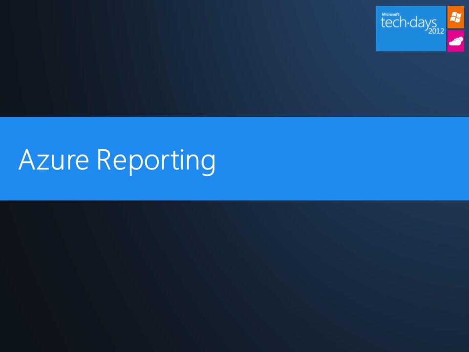 Azure Reporting