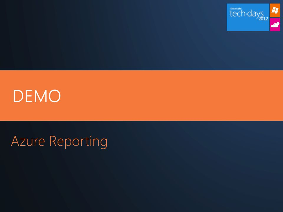 DEMO Azure Reporting