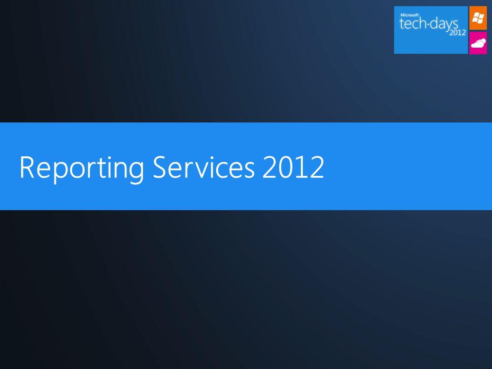 Power View OpenXML Renderer Meilleure intégration à Sharepoint 2012 Data Alerts Azure Reporting 2012
