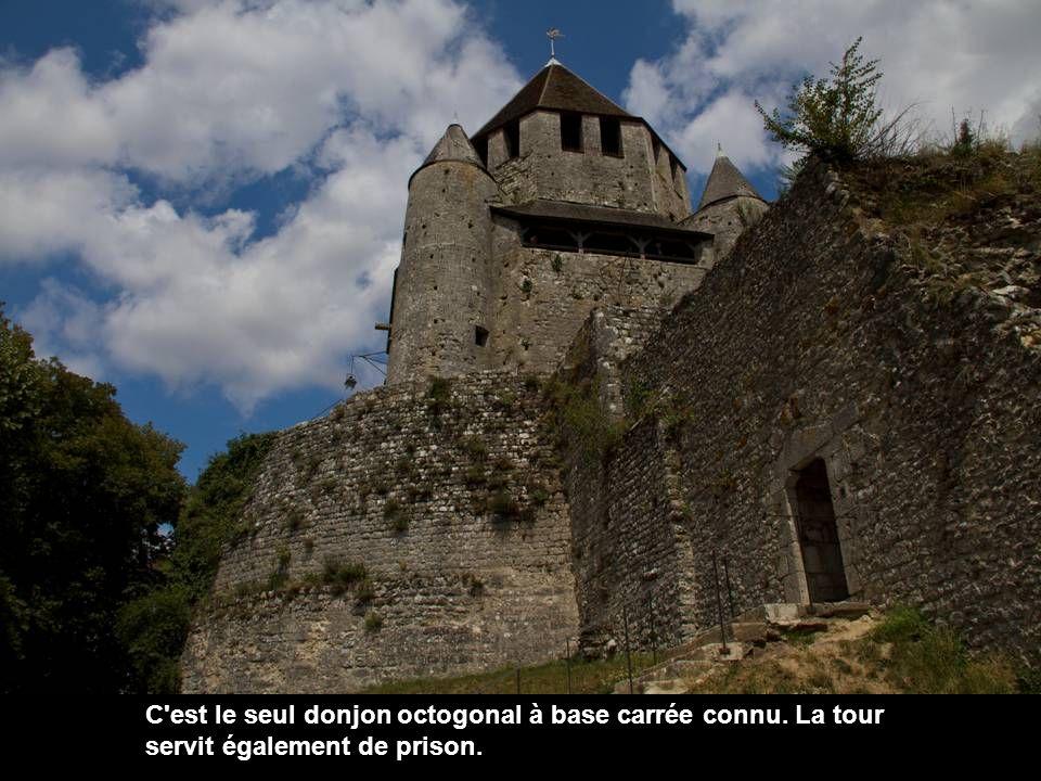 La Tour César est un donjon du XIIe siècle, situé au sommet de la colline où s est installée la ville haute.