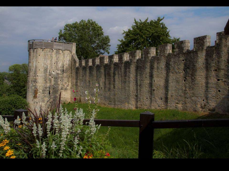 Provins est célèbre pour ses fortifications médiévales.