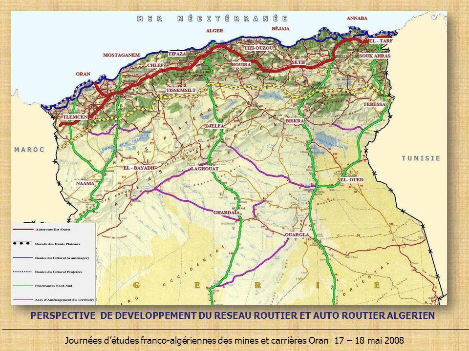 Journées d'études franco-algériennes des mines et carrières Oran 17 – 18 mai 2008