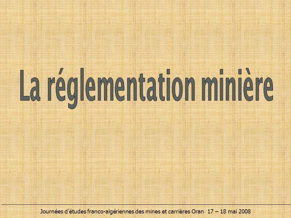  Les activités des mines et carrières sont régies par la loi minière de 2001.