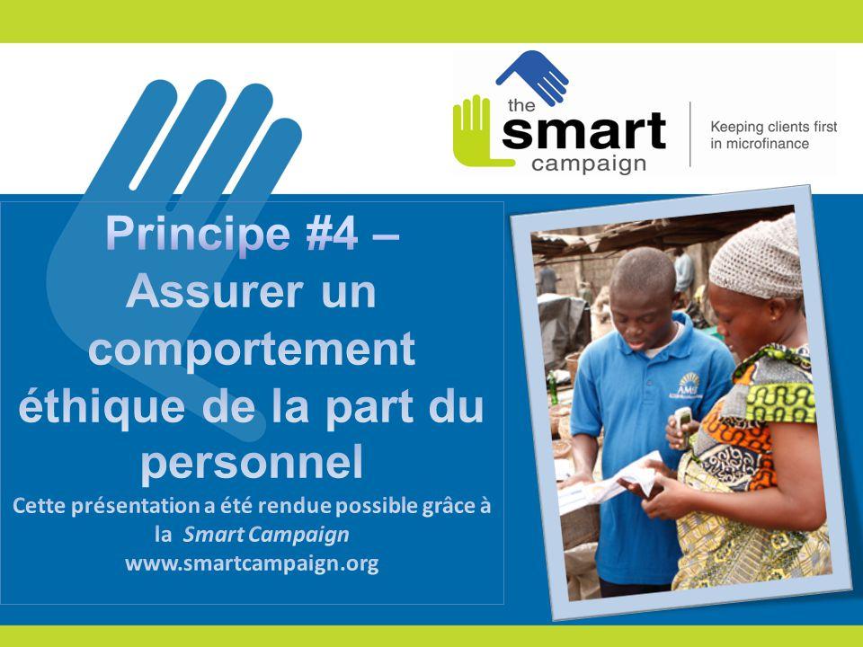 2 1.Les Principes de protection des clients 2. Principe 4 en pratique 3.