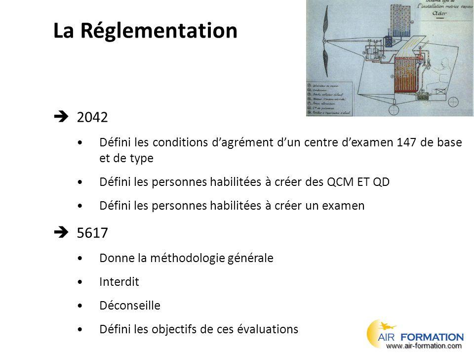 Réponse 1 Les différentes licences de la PARTIE 66 de la réglementation AESA 2042 sont : – Catégorie A – Catégorie B1 – Catégorie B2 – Catégorie C www.air-formation.com