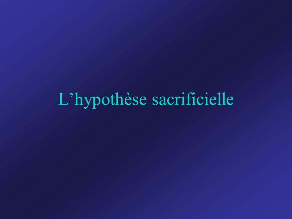 L'hypothèse sacrificielle