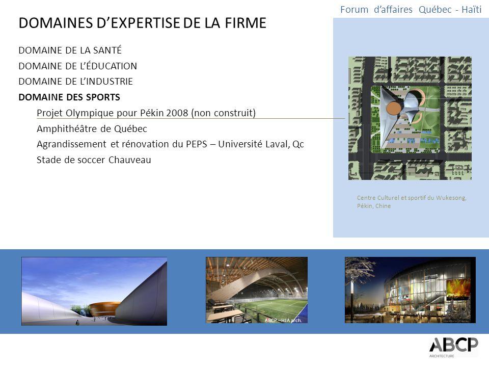 FIN Forum d'affaires Québec - Haïti Remerciements à Mme Nancy Roc de Incas Productions Inc.