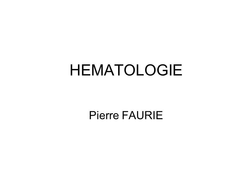 HEMATOLOGIE Pierre FAURIE