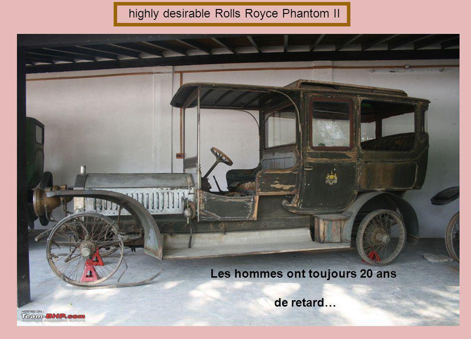 Rolls Royce Silver Ghost Première voiture 10 HP de 2 cylindres et 10 ch d Henri Royce en 1904 Les noceurs ne nous mènent pas à l autel mais à l hôtel.