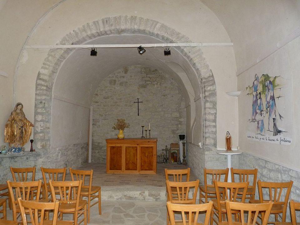 La Chapelle du village de Valouse ( Nyonsais )