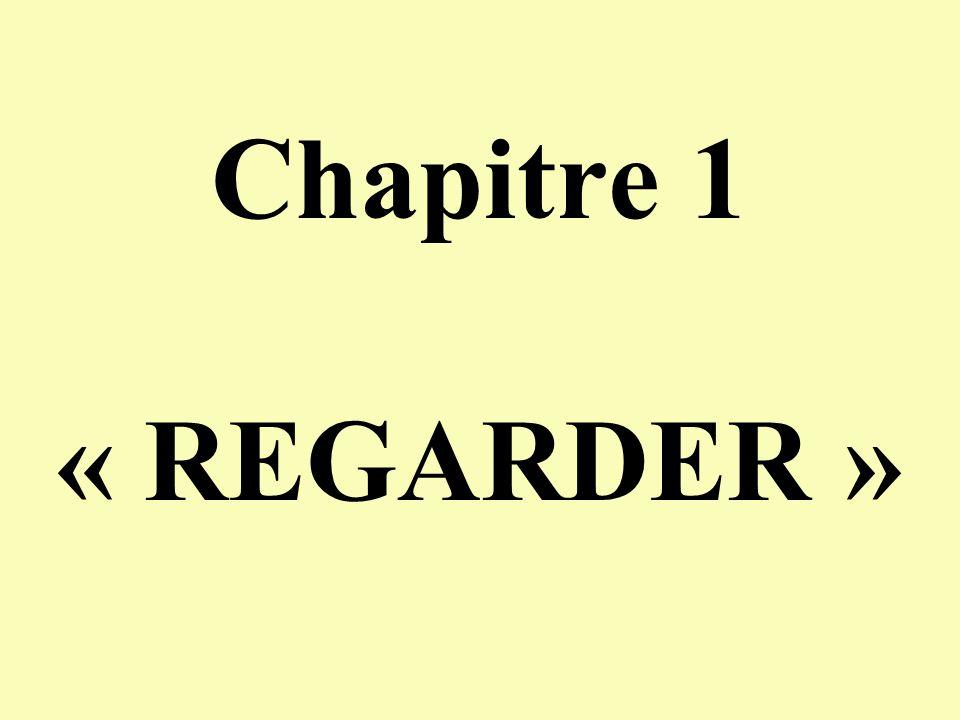 Chapitre 1 « REGARDER »