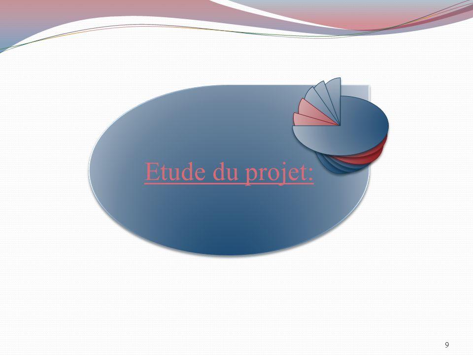 9 Etude du projet: