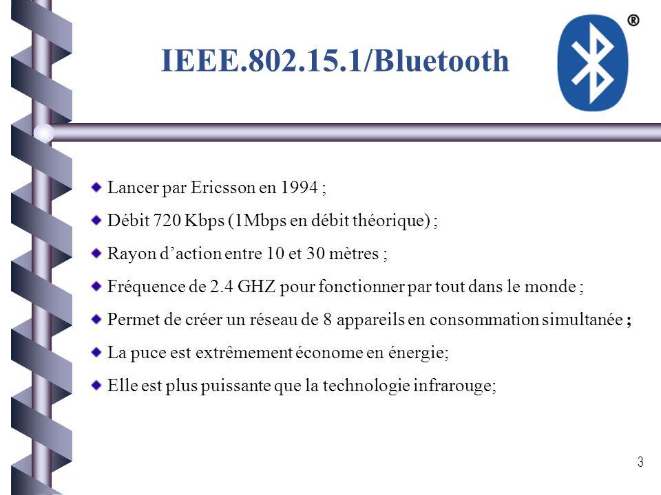Norme de l'IEEE pour les WPAN 2