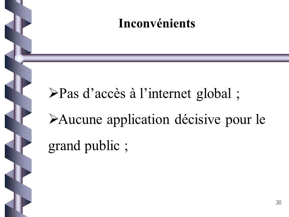 Avantage du GPRS Des débits élevés : les débits proposés par GPRS sont supérieurs au débit offert par GSM pour le transfert de données, de l'ordre 171