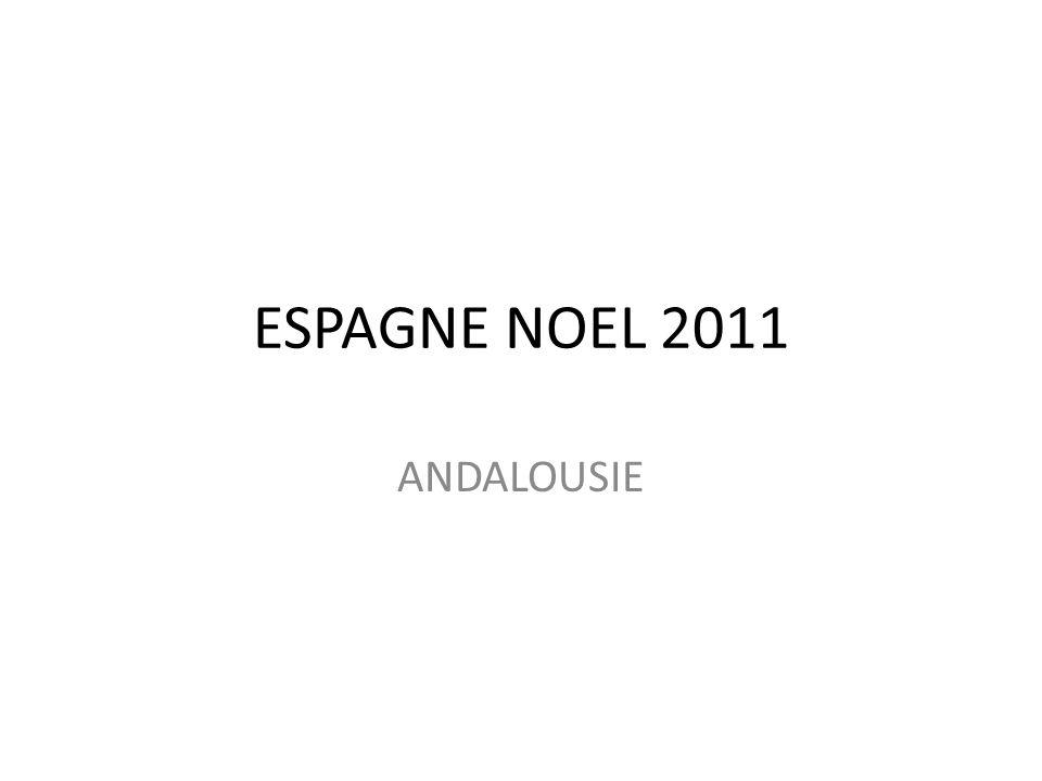 ESPAGNE NOEL 2011 ANDALOUSIE